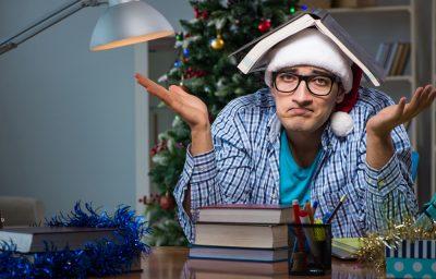 Cómo estudiar en Navidad sin matarse
